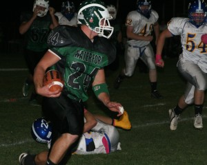 Wolverines rout Comets, take aim at Badger