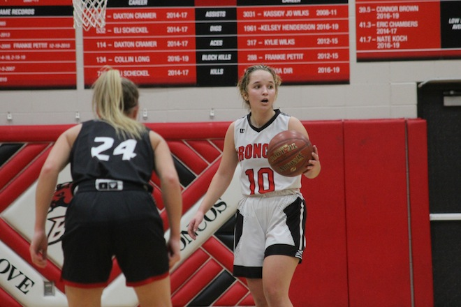 Girls basketball: Broncos bow out in regional final overtime loss