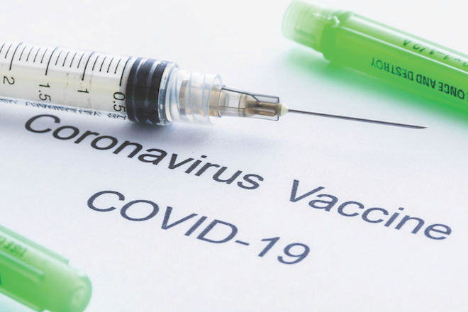 Less than half of area residents are vaccinated