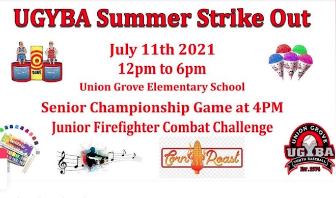 Summer Strike Out event is Sunday