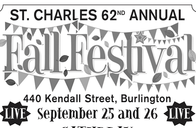 St. Charles fall fest is this weekend